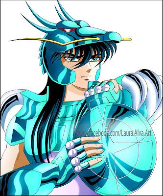 FanArts Shiryu, Caballero/Santo del Dragón