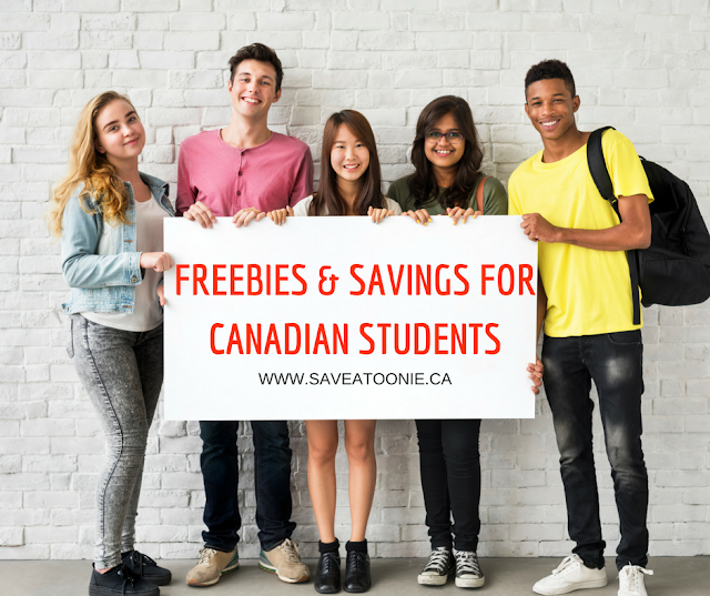 Canada Students Freebies & Discounts 2017/2018