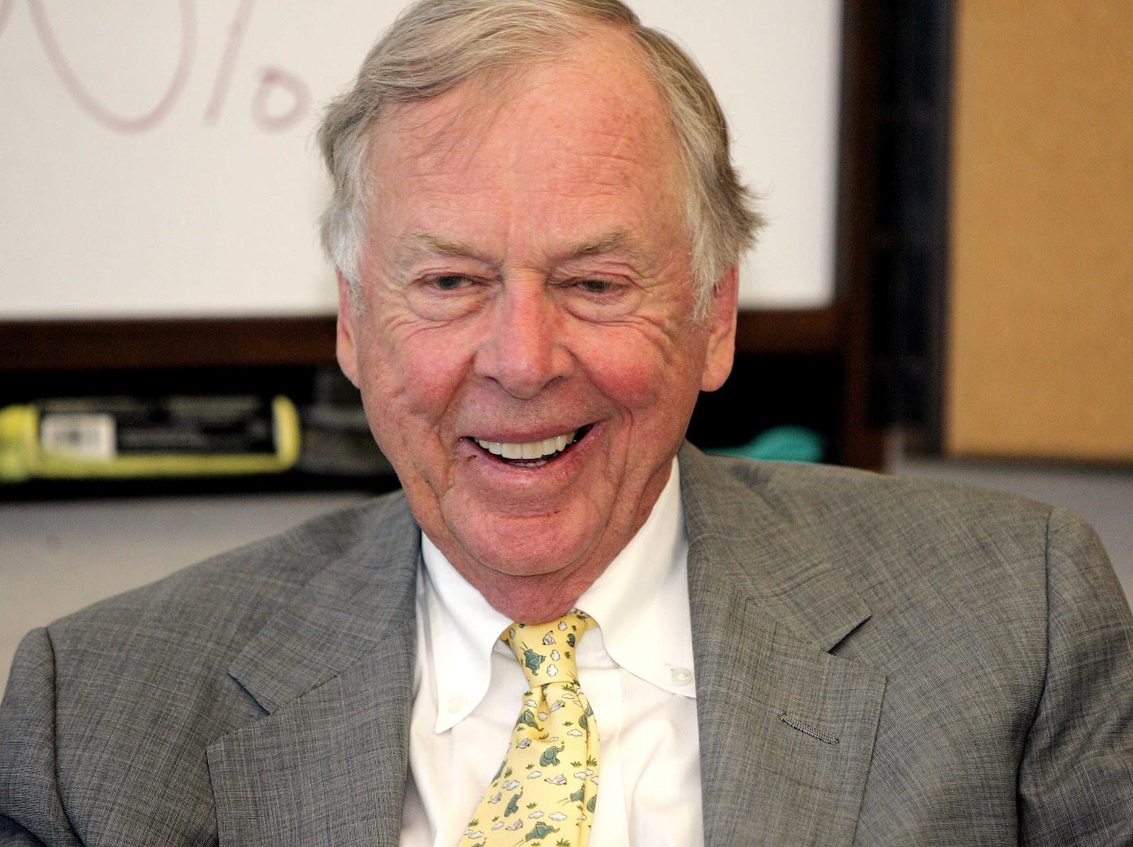 T. Boone Pickens Blog: 2012
