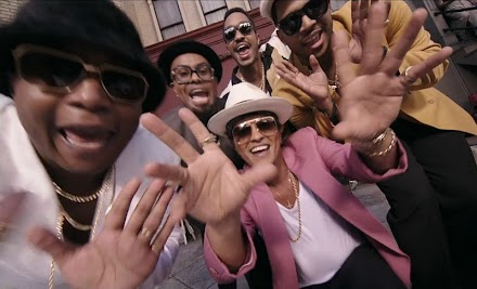 Song of the Day : Mark Ronson ft Bruno Mars - Uptown Funk ( Musikvideo )