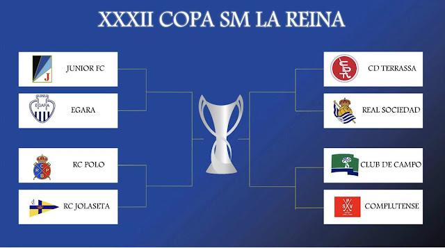 HOCKEY HIERBA - Copa de la Reina 2017 (Sant Cugat del Vallés 17-19 marzo)