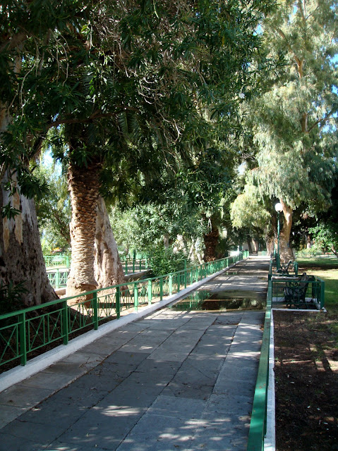 Park Irene Loutraki Greece Photo Greeker than the Greeks