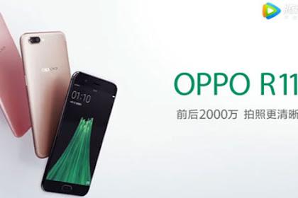 Harga OPPO R11 dan Spesifikasinya