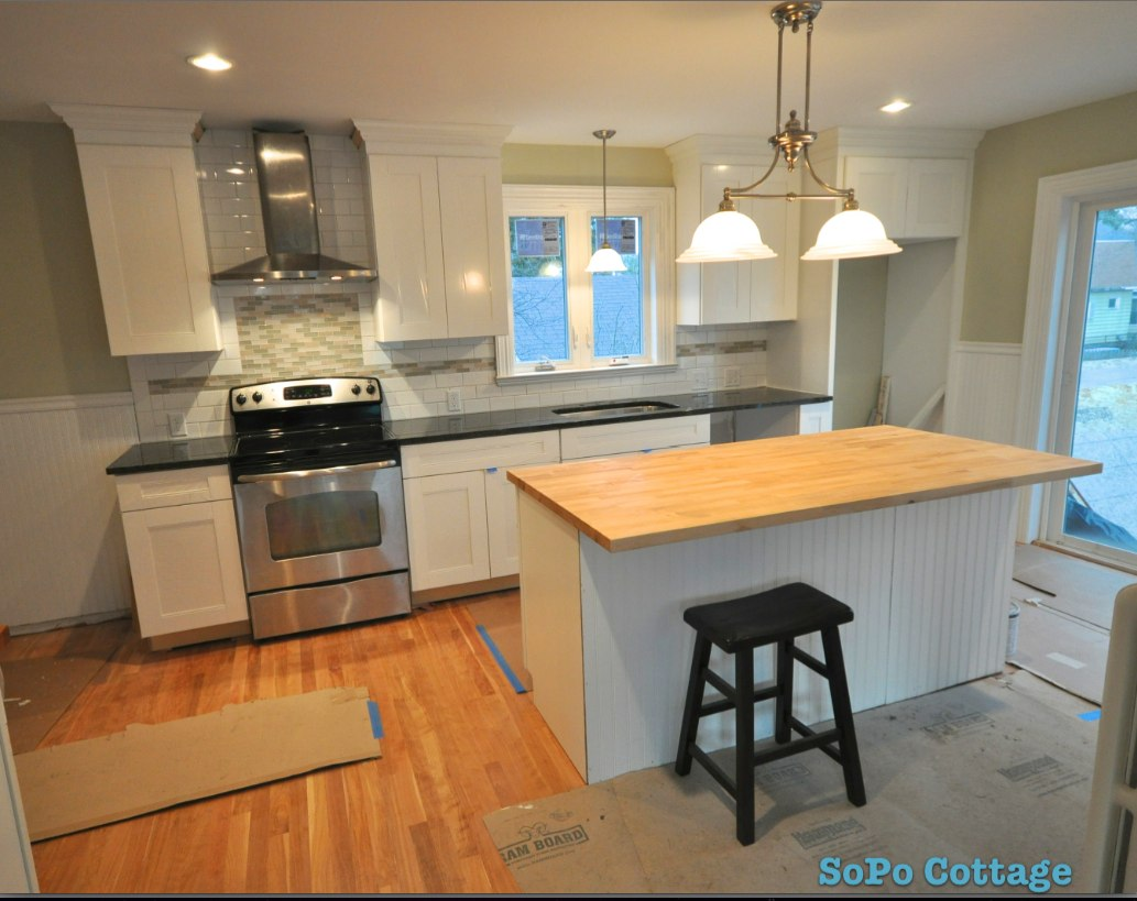 SoPo Cottage: Let There be Light - and Kitchen Sneak Peek