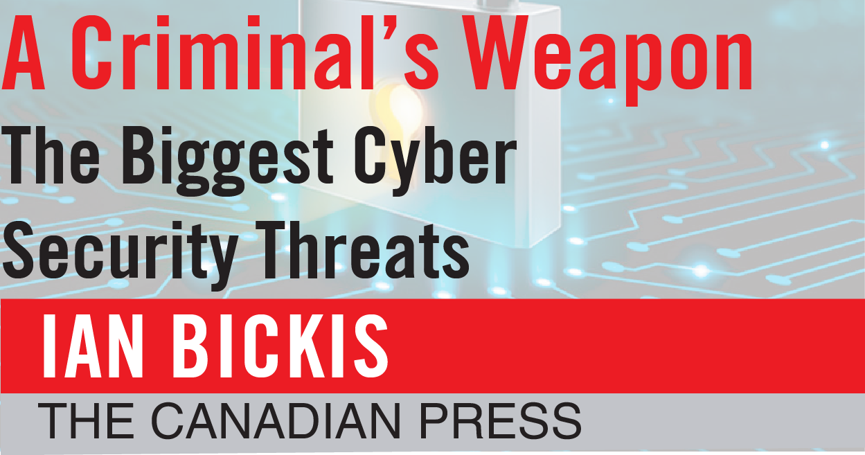 A Criminal's Weapon The Biggest Cyber Security Threats
