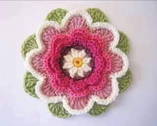 """""""Flower Grannys"""" para usar en Mantas o Bolsos"""