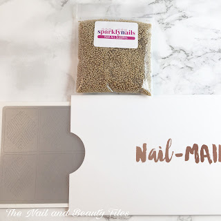 Meebox, Meebox UK, Review, Subscription Box, Nail-mail.co.uk, Sparkly Nails