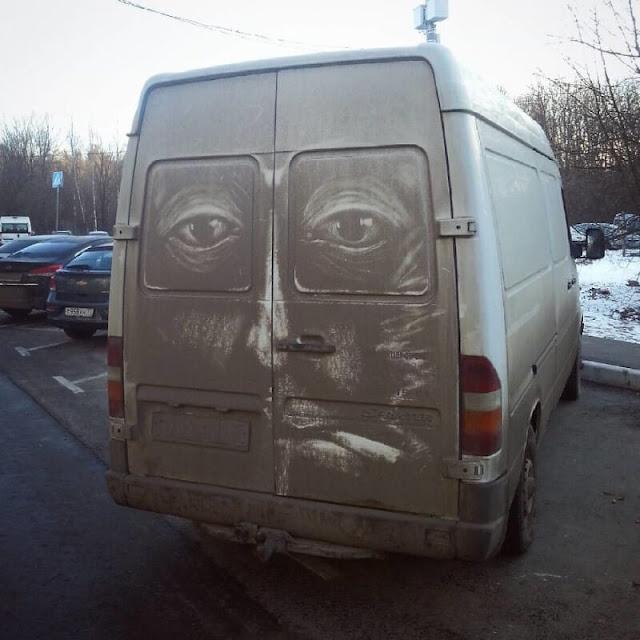 سيارات فنية، سيارات متسخة، عجائب وغرائب
