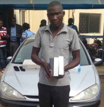 slot nigeria driver arrested stolen goods