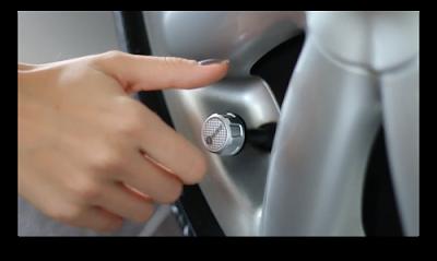 Lắp đặt cảm biến áp suất lốp Fobo Tire