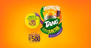 Promoção Tang 2019 de Juntar Selos