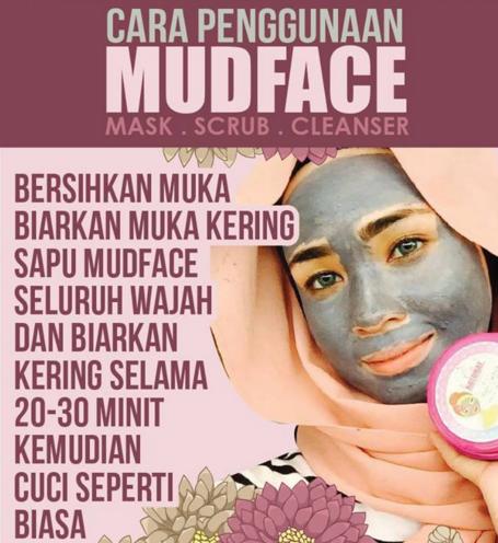 cara guna mud face