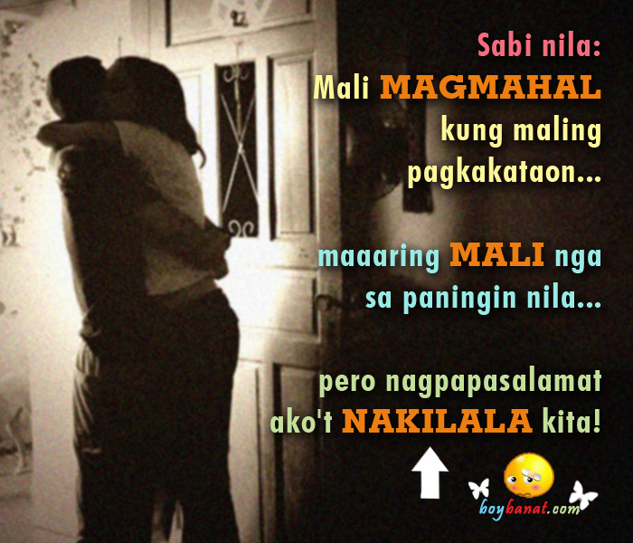 Pinoy Sweet Love Quotes And Tagalog Love Quotes Boy Banat