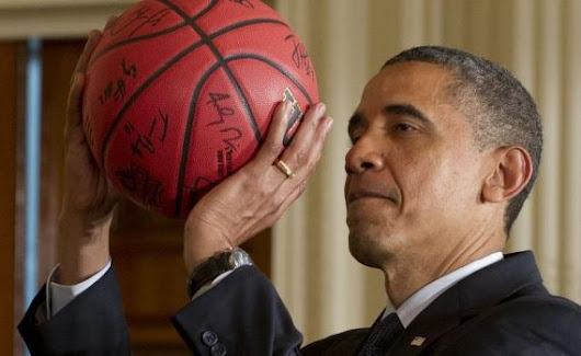President Obama Shares NCAA Toruney Bracket & Shows Love to ACC