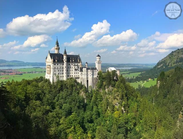 Castelo de Neuschwanstein na Alemanha
