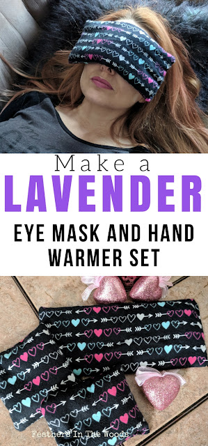 Lavender eye mask | sew | hand warmers