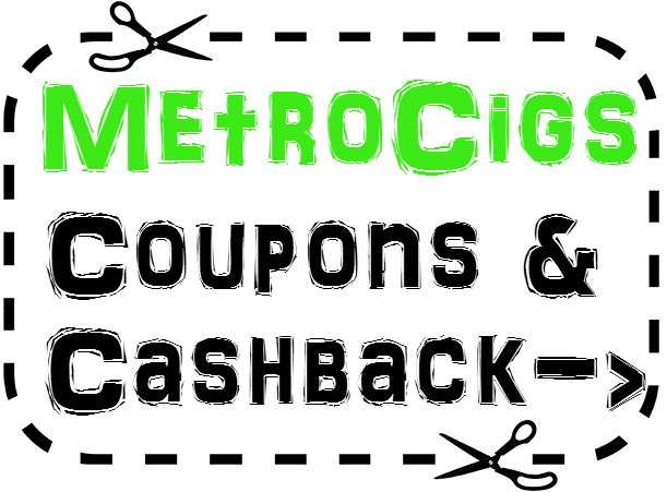 Metro Electronic Cigarette Promo Code 2016: 25% MetroCigs.com Coupon April, May, June, July, August