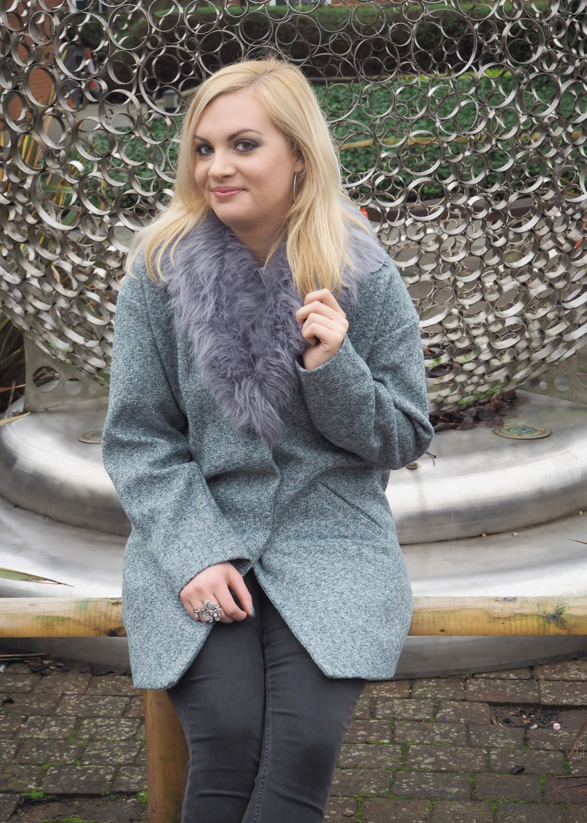 Grey Days & Silver Orbs: Outfit | Katie Kirk Loves