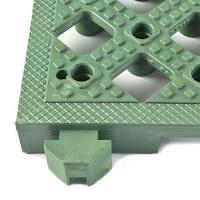 Greatmats safety matta perforated tiles wet area flooring