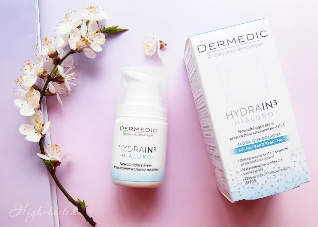 Дневной увлажняющий крем DERMEDIC Hydrain 3 Hialuro