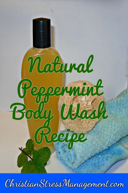 Natural peppermint body wash recipe