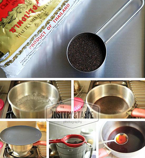 Resep Thai Iced Tea
