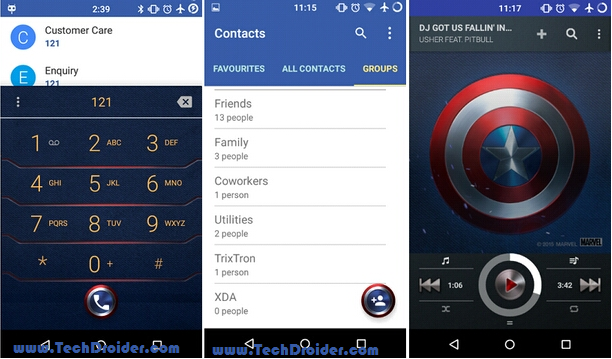 Caption America theme for Cyanogenmod 12 ( Cm12 )
