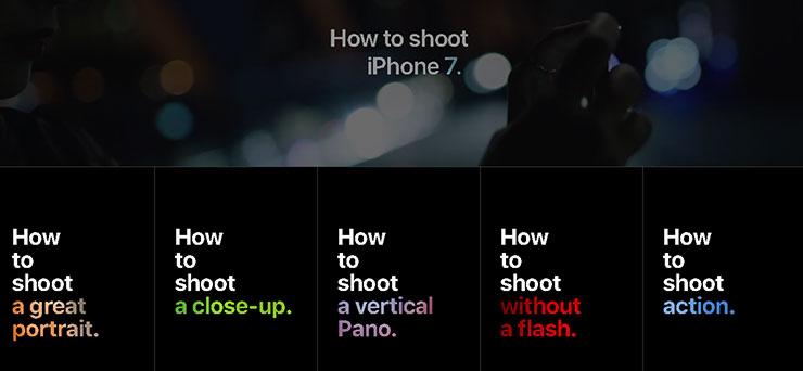 16 Tips Fotografi Menggunakan iPhone 7 dari Apple