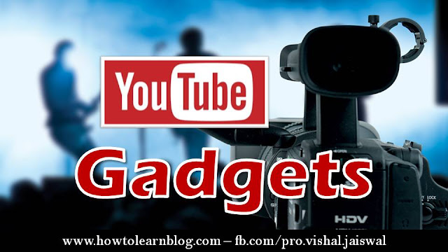 Essential YouTube Gadgets for Every YouTubers. How to make high quality YouTube videos with important YouTube gadgets. Necessary YouTube gadgets to make YouTube videos. Mic, camera, light setup and background for YouTube videos.