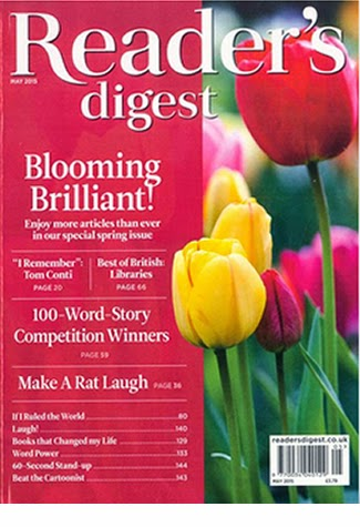 Reader's Digest May 2015
