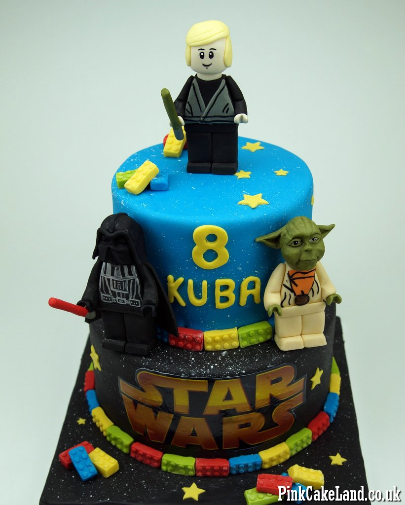 Marvelous Birthday Cakes Cakes Lego Star Wars Cake London Funny Birthday Cards Online Eattedamsfinfo