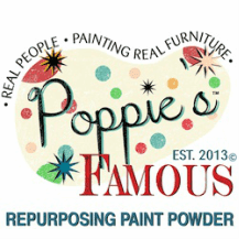 Poppies Repurposing paint powder