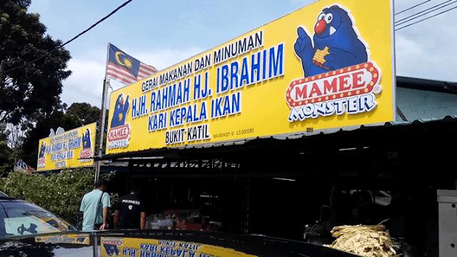 Restoran Hjh Rahmah Kari Kepala Ikan