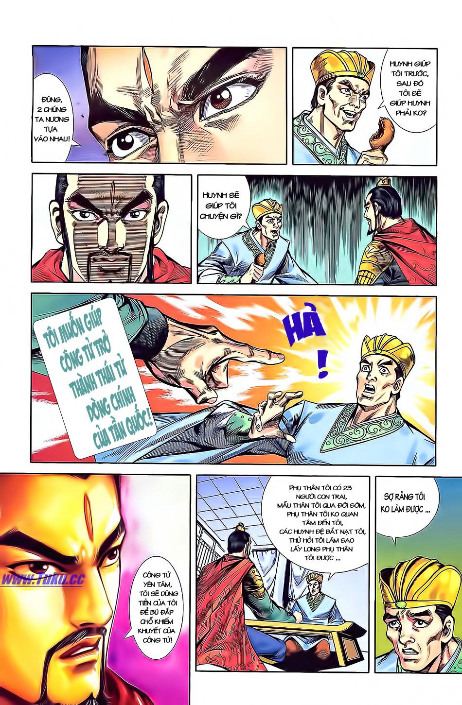 Tần Vương Doanh Chính chapter 3 trang 18