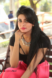 Telugu Actress Harini Stills at Dhyavudaa Movie Teaser Launch  0299.JPG