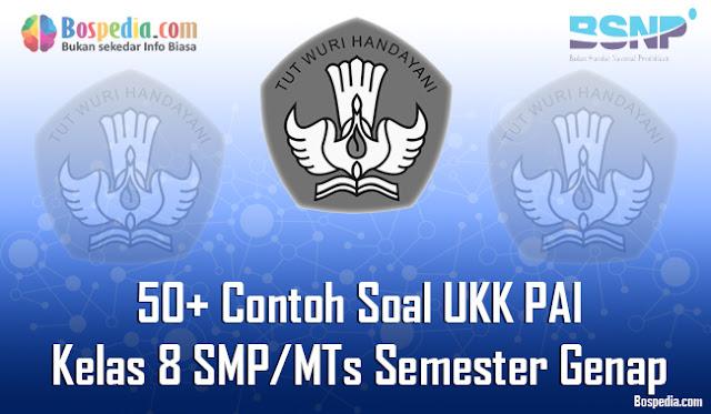 50+ Contoh Soal UKK PAI Kelas 8 SMP/MTs Semester Genap Terbaru
