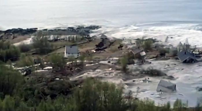 Powerful Landslide in Norway