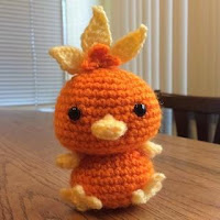 TORCHIC POKEMON AMIGURUMI