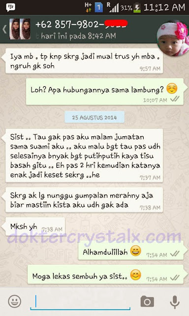 Testimoni Manfaat Crystal X Asli NASA 9