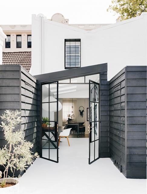 Atelier rue verte le blog sydney une maison en noir for Acheter une maison en australie