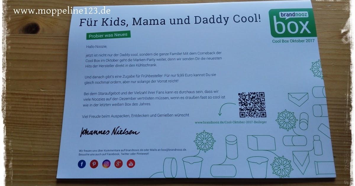 Kühlschrank Daddy Cool : Moppeline123: produkttest: brandnooz cool box oktober 2017