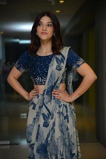 Actress Mehreen Pirzada Atills at Entha Manchivaadavuraa Press Meet