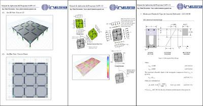 Manual SAFE v.12 diseño de losas, vigas y fundaciones de concreto reforzado y post tensado