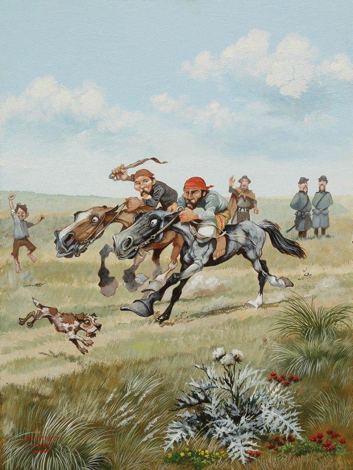 El GAUCHOGUACHO Unas carreras