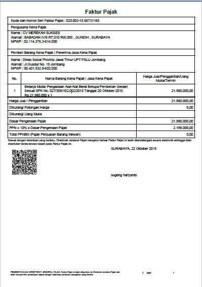 Wahyu S Blog Critical Review Sistem Informasi E Faktur
