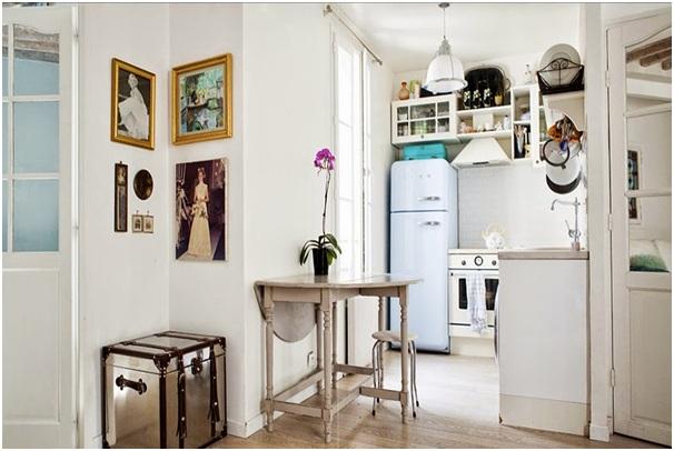 Desain Interior Dapur Rumah Cantik Yang Mungil