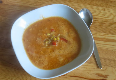 Paprika-Mais-Suppe