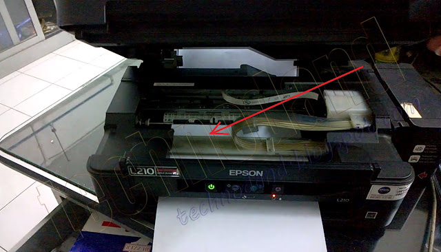 Memperbaiki Printer Epson L210 Blinking Error Kertas