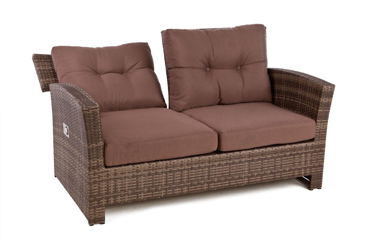 Outside Edge Garden Furniture Blog: Rattan 4 seater sofa ... on Outdoor Loveseat Sets  id=19314