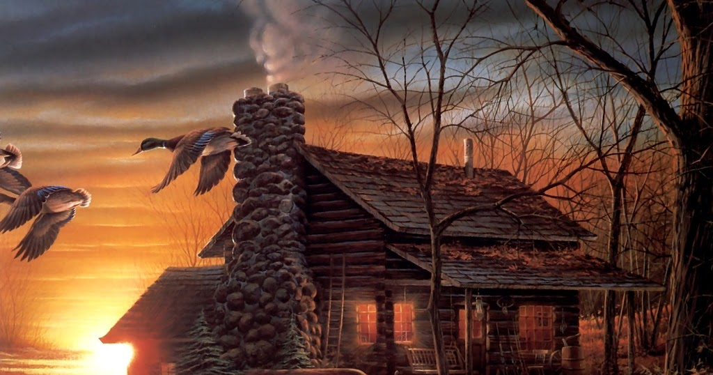 Fall Season Wallpapers Hd Terry Redlin Art Desktop Wallpapers